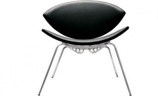 insect chair fashionable and modern design black leather