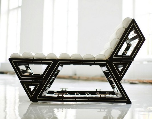 modern modular lounge chair with seven different position