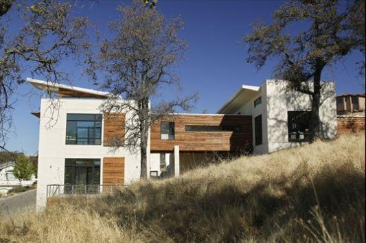 spa house modern house design exterior