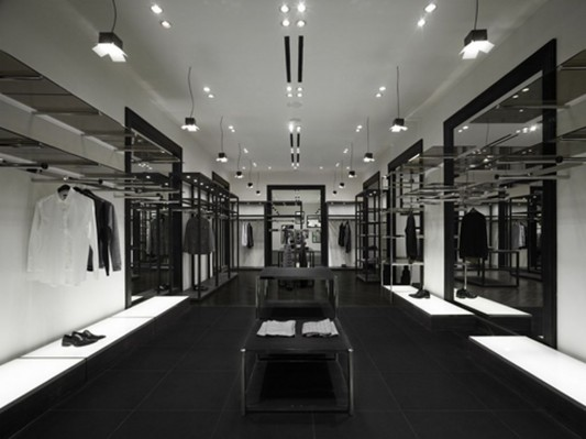 studio photo theme as fashion shop interior